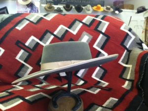 Buckaroo brim MT Peaks hat company custom cowboy hat