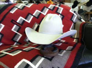 Tom Horn crease custom hat montana peaks hat company