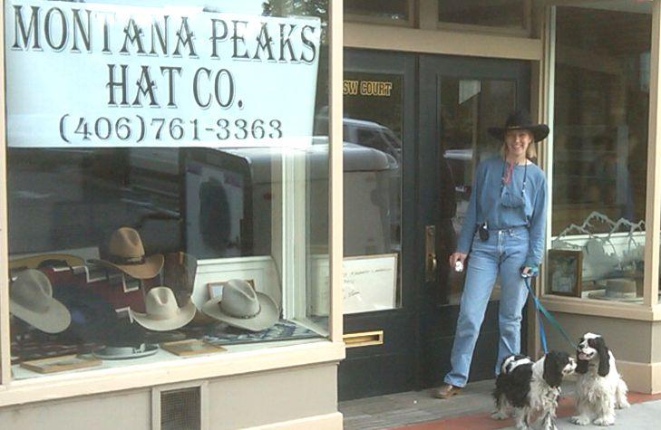 Montana Peaks Hat Company custom cowboy hats