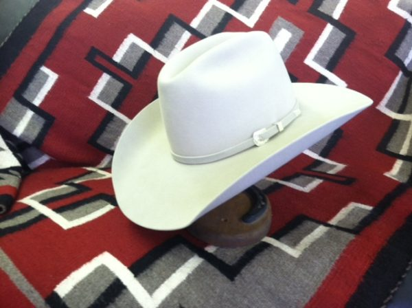 Custom Cowboy hat Montana Peaks Hat Company